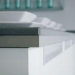 CaesarStone Countertop in Concrete 2003 (Commercial Line)