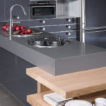 CaesarStone Concrete Kitchen