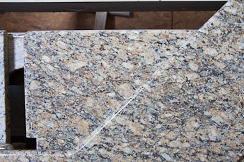 Giallo Napoleon Granite kitchen counters