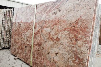 Slab of Harmony Bordeaux Granite