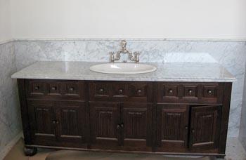 Carrera Marble Bathroom Vanity Top