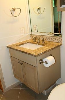 Emperador Light Marble Bathroom Vanity Top