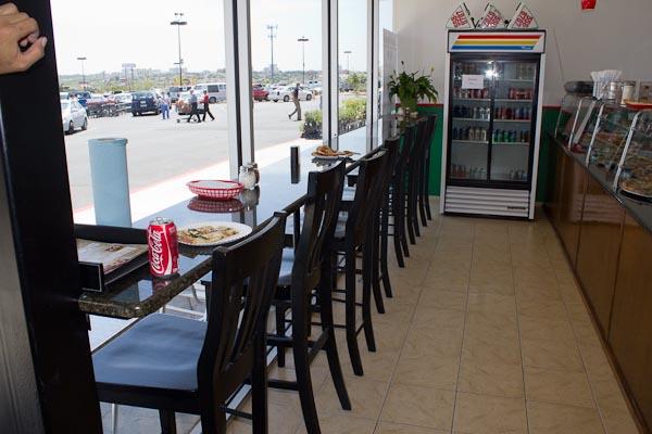 Granite Bar Counter in a Pizza restaurant.